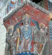 Issoire (Puy du Dôme), saint Austremoine: la crypte