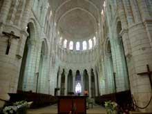 La Charité sur Loire, église abbatiale Notre Dame: le chœur