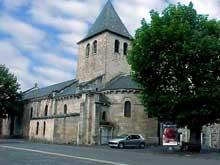Lanobre (Cantal): église paroissiale Notre Dame