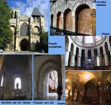 Le Mans, abbaye Notre Dame de la Couture