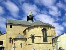 Lescar (Pyrénées Atlantiques): la «cathédrale» Notre Dame