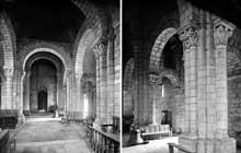 Lescure (Tarn): église saint Michel. La nef