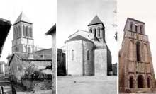 Lesterps (Charente): église saint Pierre