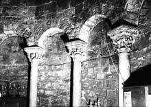 Les Saintes Maries de la Mer: l'église. Abside du chœur