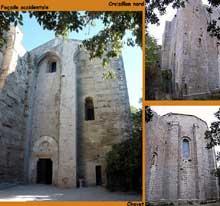 Villeneuve les Maguelone (Hérault): cathédrale saint Pierre