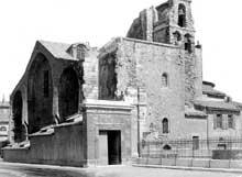 Marseille, ancienne cathédrale «La vieille Major»: ensemble sud-ouest