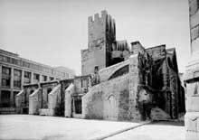 Marseille, ancienne cathédrale «La vieille Major»: ensemble nord-ouest