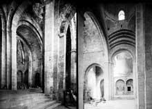 Marseille, ancienne cathédrale «La vieille Major»: la croisée
