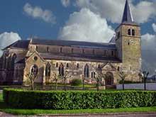 Marsal (Moselle): collégiale saint Léger