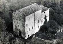 Merlande (Dordogne): le prieuré saint Jean en 1930