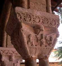 Moissac, abbaye saint Pierre: le cloître, galerie sud: Jérusalem