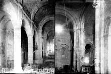 Monsempron Libos (Lot et Garonne): église prieurale saint Géraud. La nef