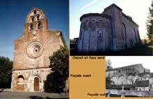 Montsaunès (Haute Garonne): église saint Christophe des Templiers