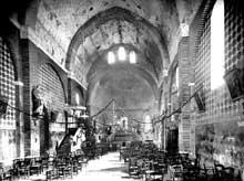 Montsaunès (Haute Garonne): église saint Christophe des Templiers. La nef