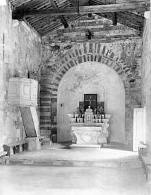 Murato (Haute Corse): l'église San Michele. La nef