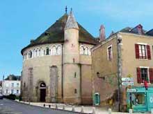 Neuvy-Saint-Sépulcre (Indre): la basilique