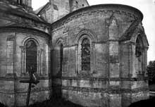 Nouvion le Vineux (Aisne)�: �glise saint Martin. L�abside