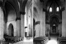 Nouvion le Vineux (Aisne)�: �glise saint Martin. Nef et transept