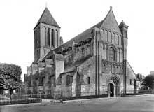 Ouistreham (Calvados): l'église saint Samson