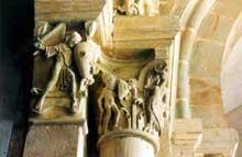 Paray Le Monial (Saône et Loire): chapiteau