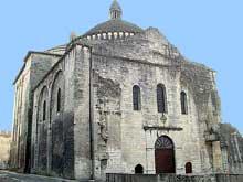Périgueux (Dordogne): Saint Etienne de la Cité, ancienne cathédrale. Façade occidentale