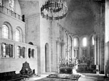 Périgueux (Dordogne): cathédrale saint Front: le chœur