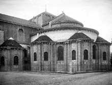 Poitiers (Vienne): saint Hilaire. Partie orientale