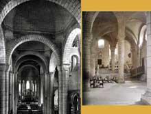 Poitiers (Vienne): saint Hilaire. Nef et chœur
