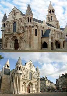 Poitiers (Vienne): Notre Dame la Grande: vue général