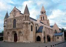 Poitiers, Notre Dame la Grande: vue générale