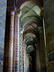 Poitiers (Vienne): Notre Dame la Grande: le collatéral nord