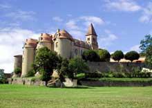 Pommiers en Forez (Haute Loire): prieuré sainte Prève