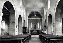 Presles (Aisne): église saint Georges. L'intérieur