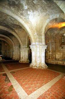 Saintes (Charente Maritime), saint Eutrope. L'église basse