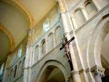 Saulieu (Cote d'Or), saint Andoche: élévation de la nef