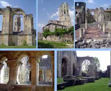 La Sauve Majeure (Gironde): abbaye Notre Dame de la Grande Sauve