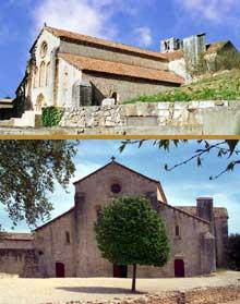 La Roque d'Anthéron (Bouches du Rhône): abbaye de Silvacane, l'église abbatiale