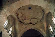 Souillac (Lot): abbatiale sainte Marie: coupole centrale de la nef