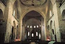 Les coupoles de la nef de sainte Marie de Souillac