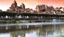 Saint Aignan sur Cher (Loire et Cher): la collégiale