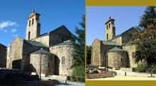 Saint André de Sorède (Pyrénées Orientales): l'église