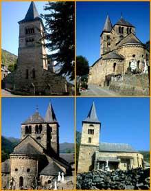 Saint Aventin (Haute Garonne): l'église