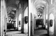 Saint Aventin (Haute Garonne): la nef