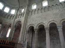Saint Benoît sur Loire (Loiret): abbaye saint Fleury. Elévation du chœur