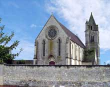 Saint Contest (Calvados): vue générale de l'église