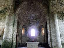 Saint Hymetière (Jura): l'église. Le chœur