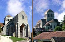 Saint Loup de Naud: église du prieuré bénédictin