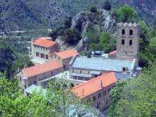 Saint Martin du Canigou (Pyr�n�es Orientales)�: l�abbaye