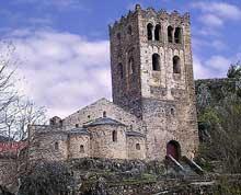 Saint Martin du Canigou (Pyrénées Orientales): la tour