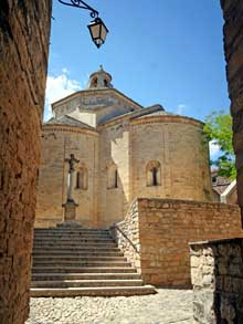 Saint Martin de Londres (Gard): l'abbaye